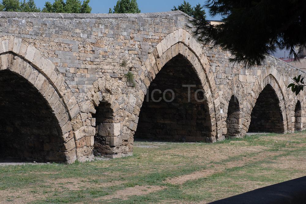 From this Norman Bridge, Giuseppe  Garibaldi entered and take Palermo
