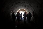 Images from a recent tour of Fort Totten, Queens, where a group of us got to see tunnels and battery, closed to public all year.