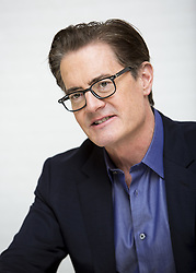 May 22, 2017 - Hollywood, California, U.S. - KYLE MACLACHLAN promotes the new Twin Peaks 25 years latter. Kyle Merritt MacLachlan (born February 22, 1959) is an American actor. MacLachlan is best known for his role as Dale Cooper in Twin Peaks (1990–91; 2017) and its subsequent film continuation Twin Peaks: Fire Walk with Me (1992), as well as in cult films such as Paul Atreides in Dune (1984) and Jeffrey Beaumont in Blue Velvet (1986). MacLachlan's other film roles include Lloyd Gallagher in the science fiction action film The Hidden (1987), Ray Manzarek in The Doors (1991), Clifford Vandercave in The Flintstones (1994), and the voice of Riley's dad in Inside Out (2015). He has also had prominent roles in television shows including appearing as Trey MacDougal in Sex and the City (2000–2002), Orson Hodge in Desperate Housewives (2006-12), The Captain in How I Met Your Mother (2010–14), the Mayor of Portland in Portlandia (2011-17), and Calvin Zabo in Agents of S.H.I.E.L.D. (2014-15). MacLachlan has won a Golden Globe Award for Best Actor – Television Series Drama and has been nominated for two Emmy Awards, all for Twin Peaks.  (Credit Image: © Armando Gallo via ZUMA Studio)