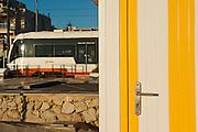 Tram train, San Juan beach Alicante, Spain