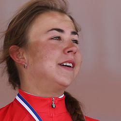 24-06-2016: Wielrennen: NK weg Vrouwen: Ouddorp   <br /> OUDDORP (NED) wielrennen   <br /> Rond de Brouwersdam streden de wielervrouwen om de Nederlandse titel.