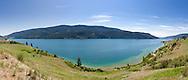 Panorama of Kalamalka Lake in Vernon, British Columbia, Canada