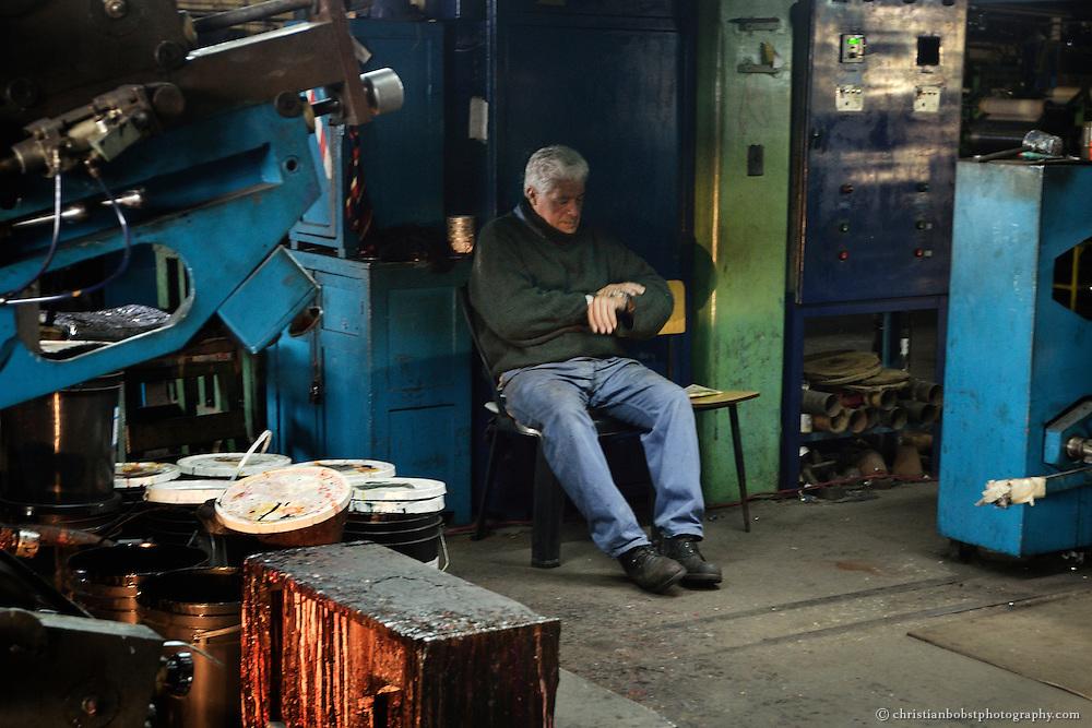 IMPA. La fabrica Recuperada, Buenos Aires, Argentina