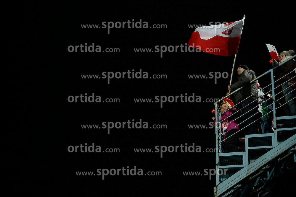 17.01.2015, Wielka Krokiew, Zakopane, POL, FIS Weltcup Ski Sprung, Zakopane, Herren, Teamspringen, im Bild Kibice // during mens Large Hill Team competition of FIS Ski Jumping world cup at the Wielka Krokiew in Zakopane, Poland on 2015/01/17. EXPA Pictures &copy; 2015, PhotoCredit: EXPA/ Newspix/ Irek Dorozanski<br /> <br /> *****ATTENTION - for AUT, SLO, CRO, SRB, BIH, MAZ, TUR, SUI, SWE only*****