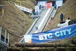 during first round on day 2 of  FIS Ski Jumping World Cup Ladies Ljubno 2020, on February 23th, 2020 in Ljubno ob Savinji, Ljubno ob Savinji, Slovenia. Photo by Matic Ritonja / Sportida