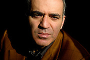 Portrait of former world chess champion Garry Kasparov at home. Since retirement from chess in 2005, Kasparov has turn to politics and became one of the strongest critics of Russian leader Vladimir Putin. Picture by Justin Jin.
