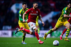 Nahki Wells of Bristol City - Mandatory by-line: Ryan Hiscott/JMP - 22/02/2020 - FOOTBALL - Ashton Gate - Bristol, England - Bristol City v West Bromwich Albion - Sky Bet Championship