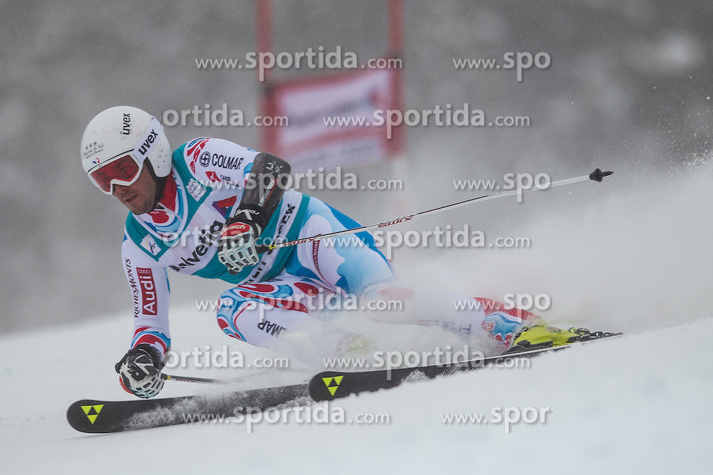 08.12.2013, Birds of Prey, Beaver Creek, USA, FIS Ski Weltcup, Beaver Creek, Riesentorlauf, Herren, 1. Durchgang, im Bild Thomas Fanara (FRA) // Thomas Fanara of France in action during the the 1st run of mens Giant Slalom of the Beaver Creek FIS Ski Alpine World Cup at the Birds of Prey Raptor in Beaver Creek, United States on 2012/12/08. EXPA Pictures © 2013, PhotoCredit: EXPA/ Johann Groder