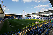 General view inside Deepdale during the EFL Sky Bet Championship match between Preston North End and Leeds United at Deepdale, Preston, England on 9 April 2019.