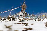February 2007 - Shangarila, China - A snow covered sacred peak.<br /> Photo credit: Luke Duggleby