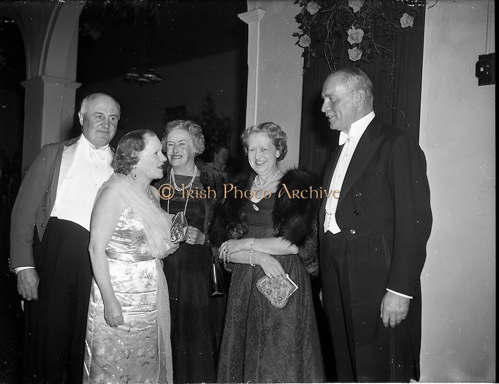 01/05/1958<br /> 05/01/1958<br /> 01 May 1958 <br /> Punchestown Ball at Lawlor's Hotel, Naas, Co. Kildare.
