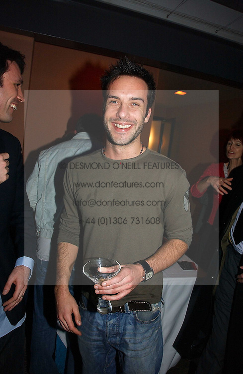 Actor JAMES ALEXANDER at a party to celebrate the publication of Tom Sykes's book 'What Did I Do Last Night?' held at Centuary, Shaftesbury Avenue, London on 16th January 2007.<br /><br />NON EXCLUSIVE - WORLD RIGHTS
