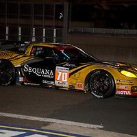 #70 Chevrolet Corvette C6 ZR1, Larbre Competition, Drivers: Belloc/Bourret/Gibon, Le Mans 24H, 2012