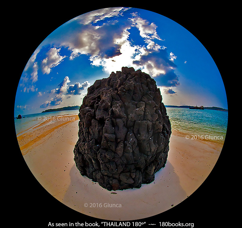 Lava Rock on Koh Kham