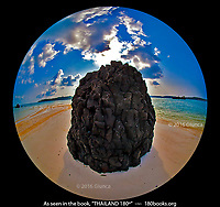 Lava Rock on Koh Kham
