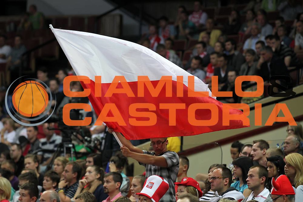DESCRIZIONE : Katowice Poland Polonia Eurobasket Women 2011 Round 2 Francia Polonia France Poland<br /> GIOCATORE : tifo fan supporter<br /> SQUADRA : Poland Polonia<br /> EVENTO : Eurobasket Women 2011 Campionati Europei Donne 2011<br /> GARA : Francia Polonia France Poland<br /> DATA : 26/06/2011<br /> CATEGORIA : <br /> SPORT : Pallacanestro <br /> AUTORE : Agenzia Ciamillo-Castoria/E.Castoria<br /> Galleria : Eurobasket Women 2011<br /> Fotonotizia : Katowice Poland Polonia Eurobasket Women 2011 Round 2 Francia Polonia France Poland<br /> Predefinita :