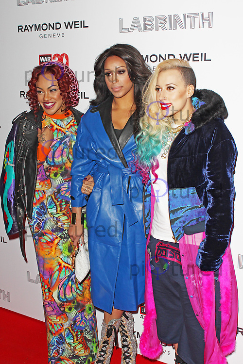 LONDON - January 24: StooShe at the Raymond Weil Annual Music Dinner and War Child 20th Anniversary Celebration (Photo by Brett D. Cove)