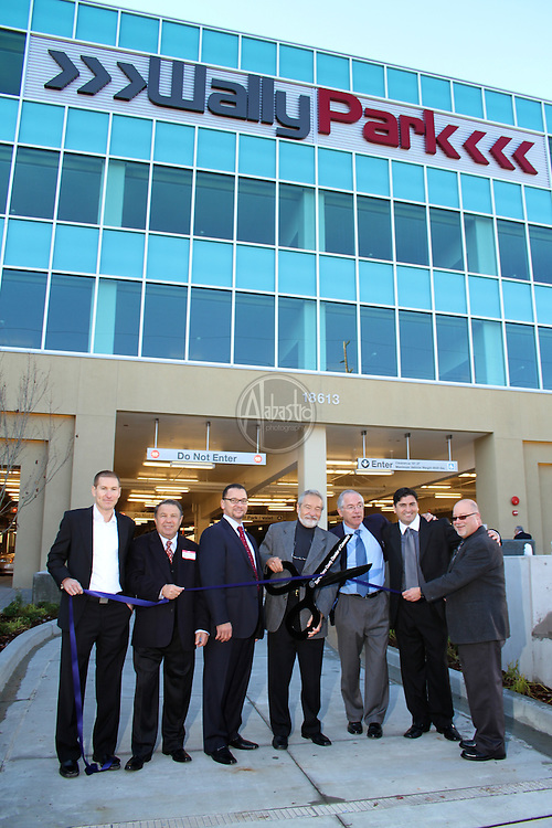 Grand Opening Ribbon Cutting Celebration of WallyPark's new Premier Garage at Seatle-Tacoma International Airport.