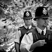 On patrol, London, England (August 2004)