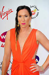 Wimbledon Party<br /> Jelena Jankovic attends the annual pre-Wimbledon party at Kensington Roof Gardens,<br /> London, United Kingdom<br /> Thursday, 20th June 2013<br /> Picture by Chris  Joseph / i-Images