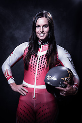 12.10.2019, Olympiahalle, Innsbruck, AUT, FIS Weltcup Ski Alpin, im Bild Anna Veith // during Outfitting of the Ski Austria Winter Collection and the official Austrian Ski Federation 2019/ 2020 Portrait Session at the Olympiahalle in Innsbruck, Austria on 2019/10/12. EXPA Pictures © 2020, PhotoCredit: EXPA/ Johann Groder