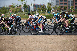 Anna Potokina (RUS) in the bunch at Tour of Chongming Island 2019 - Stage 2, a 126.6 km road race from Changxing Island to Chongming Island, China on May 10, 2019. Photo by Sean Robinson/velofocus.com