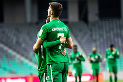 Kronaveter Rok of NK Olimpija Ljubljana celebrates during football match between NK Olimpija Ljubljana and NK Aluminij in Round #27 of Prva liga Telekom Slovenije 2018/19, on April 14th, 2019 in Stadium Stozice, Slovenia Photo by Matic Ritonja / Sportida
