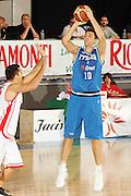 DESCRIZIONE : Bormio Torneo Internazionale Gianatti Italia Austria <br /> GIOCATORE : Andrea Bargnani<br /> SQUADRA : Nazionale Italia Uomini <br /> EVENTO : Bormio Torneo Internazionale Gianatti <br /> GARA : Italia Austria <br /> DATA : 31/07/2007 <br /> CATEGORIA : Tiro<br /> SPORT : Pallacanestro <br /> AUTORE : Agenzia Ciamillo-Castoria/G.Cottini<br /> Galleria : Fip Nazionali 2007<br /> Fotonotizia : Bormio Torneo Internazionale Gianatti Italia Austria<br /> Predefinita :