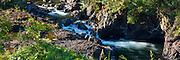 Wailuku River. Boiling Pots, The Big Island of Hawaii