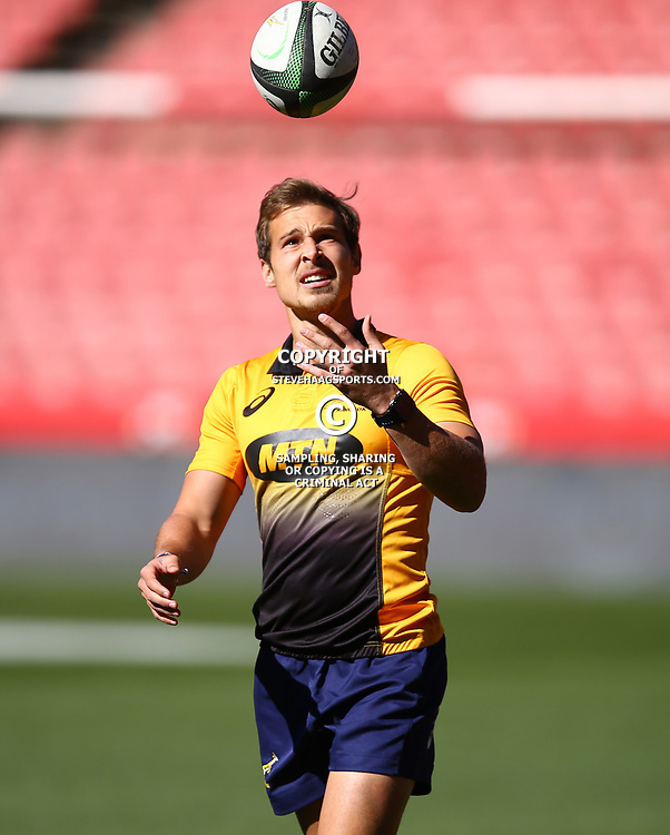 Ivan van Zyl of South Africa during the South African - Springbok Captain's Run at Emirates Airline Park,<br /> Johannesburg .South Africa. 08,06,2018 Photo by (Steve Haag Sports)