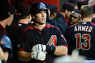 PHOENIX, AZ - MAY 28:  Paul Goldschmidt #44 of the Arizona Diamondbacks walks through the dugout after scoring during the first inning against the San Diego Padres at Chase Field on May 28, 2016 in Phoenix, Arizona.  (Photo by Jennifer Stewart/Getty Images)