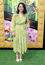 Abbi Jacobson at the Los Angeles premiere of 'The LEGO Ninjago Movie' held at the Regency Village Theatre in Westwood, USA on September 16, 2017.