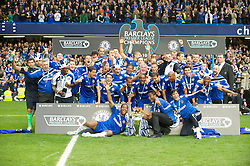 LONDON, ENGLAND - Sunday, May 9, 2010: Chelsea win the 2009/10 Premier League after beating Wigan Athletic 8-0 during the final Premiership match of the season at Stamford Bridge. (Pic by Gareth Davies/Propaganda)