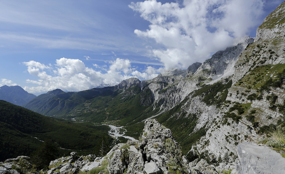 Theth Valley, Albania.