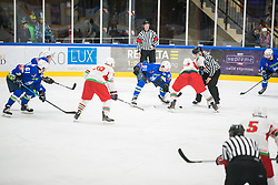 Miha Verlic during Ice Hockey match between National teams of Slovenia and Belarus at International tournament Euro ice hockey Challenge 2019, on February 9, 2019 in Ice Arena Bled, Slovenia. Photo by Peter Podobnik / Sportida
