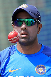 July 25, 2017 - Galle, Sri Lanka - Indian cricketer Ravichandran Ashwin is seen during  a practice session ahead of the 1st test match between Sri Lanka and India at Galle International cricket stadium, Galle, Sri Lanka on Tuesday 25 July 2017. (Credit Image: © Tharaka Basnayaka/NurPhoto via ZUMA Press)
