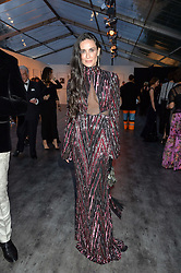 DEMI MOORE at British Vogue's Centenary Gala Dinner in Kensington Gardens, London on 23rd May 2016.