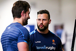 Francois Hougaard of Worcester Warriors during training ahead of the European Challenge Cup Pool Fixture against State Francais - Mandatory by-line: Robbie Stephenson/JMP - 15/01/2019 - RUGBY - Sixways Stadium - Worcester, England - Worcester Warriors Training