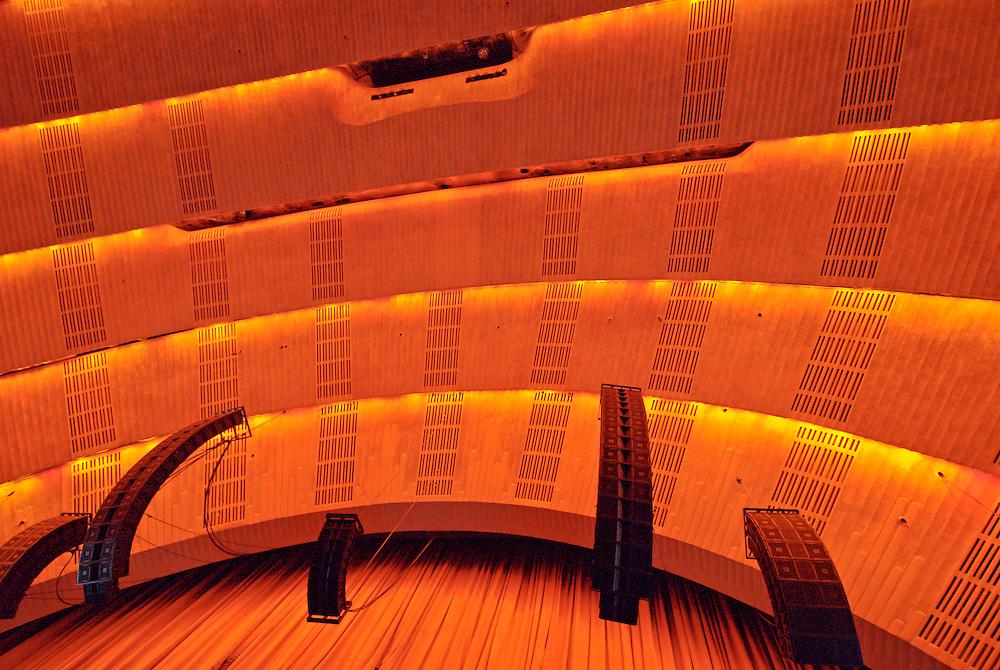 Radio City Music Hall, Interior, New York City, NY, Edward Durell Stone (architect) and Donald Deskey (interior)