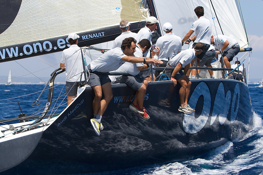 ONO during the fifth race of the AUDI Medcup 14th Breitling Regatta in Puerto Portals
