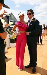 Tipple at Ascot Racecourse during Melbourne Cup in Perth, Western Australia. 06 Nov 2018 Pictured: Monica Radulovic and husband Alesandro Ljubicic. Photo credit: FM/MEGA TheMegaAgency.com +1 888 505 6342