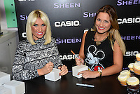 Sam Faiers; Billie Faiers - signing, Casio, Covent Garden, London UK, 06 December 2013, Photo by See Li