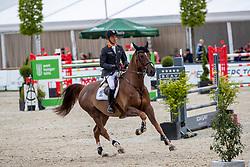 FUKUSHIMA Daisuke (JPN), Conblue<br /> Hagen - Horses and Dreams 2019<br /> Preis der Pott´s Brauerei GmbH CSI2*<br /> Finale Mittlere Tour<br /> 28. April 2019<br /> © www.sportfotos-lafrentz.de/Stefan Lafrentz