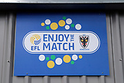 AFC Wimbledon enjoy the match during the EFL Trophy match between AFC Wimbledon and Tottenham Hotspur at the Cherry Red Records Stadium, Kingston, England on 3 October 2017. Photo by Matthew Redman.
