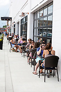 The new Union Market welcomes visitors with large windows and extensive outdoor seating.