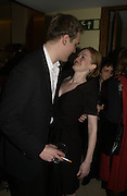 Mirielle Enos and David Harbour. The after party following the press night for 'Who's Afraid Of Virginia Woolf?' at the Aldwych theatre on January 31 2006  January 31  2006. © Copyright Photograph by Dafydd Jones 66 Stockwell Park Rd. London SW9 0DA Tel 020 7733 0108 www.dafjones.com
