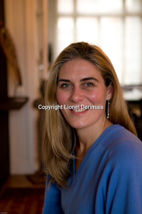 Elise de Saint Guilhem, Rouge Baiser-Elise  owner and founder photographed in Paris.