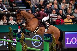 MÜLLER JÖrg (GER), Lion Cor<br /> Leipzig - Partner Pferd 2019<br /> Championat von Leipzig<br /> 19. Januar 2019<br /> © www.sportfotos-lafrentz.de/Stefan Lafrentz