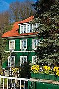 historisches Kapitaenshaus, Oevelgoenne, Hamburger Hafen, Hamburg, Deutschland.|.former captain's house, Oevelgoenne, port, Hamburg, Germany