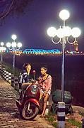 Laos, Vientiane.
